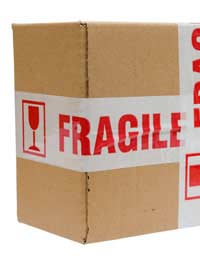Packing Fragile Items Packing Awkward